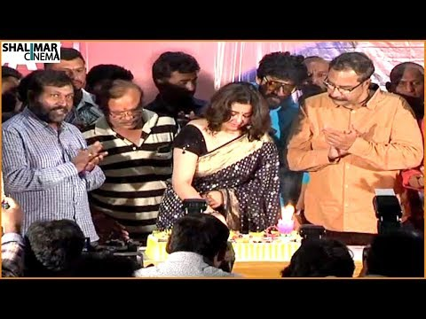 Director Puri Jagannadh Birthday Celebrations || Charmy Kaur, Uttej || Shalimarcinema