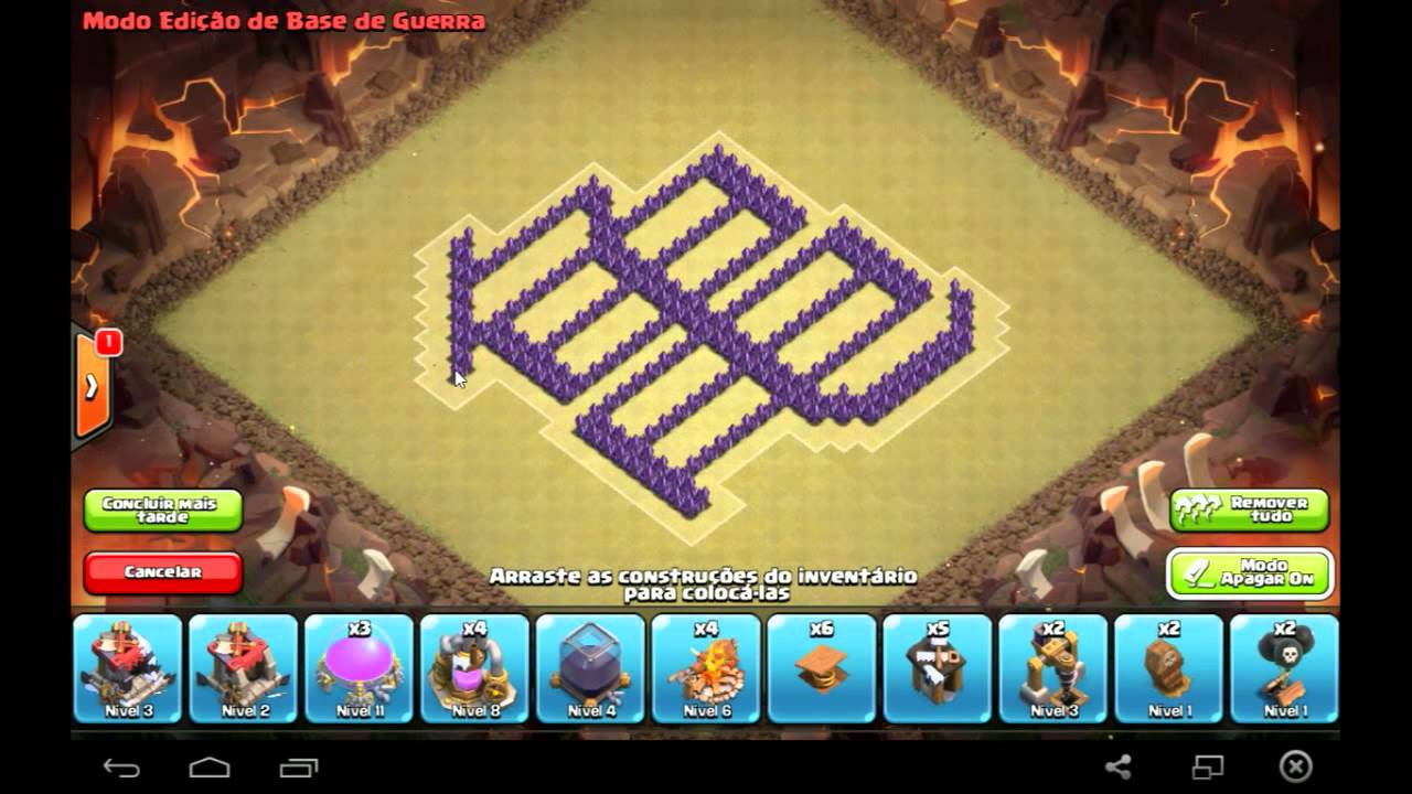 Layout Base Clash Of Clans Th8 Dragon Ball Symbol Kameturtle
