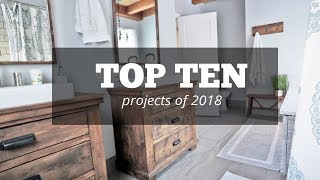 Counting Down 2018 Projects