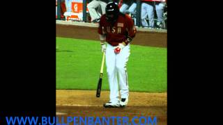 BRYCE HARPER at the Futures game