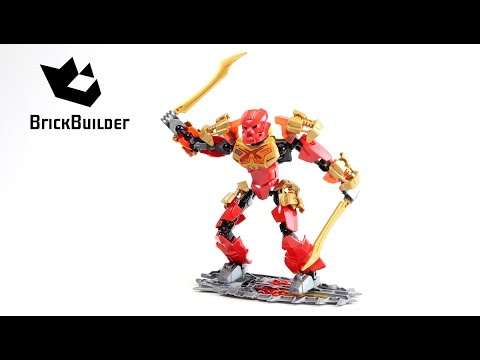 Lego Bionicle 70787 Tahu - Master of Fire - Lego Speed build