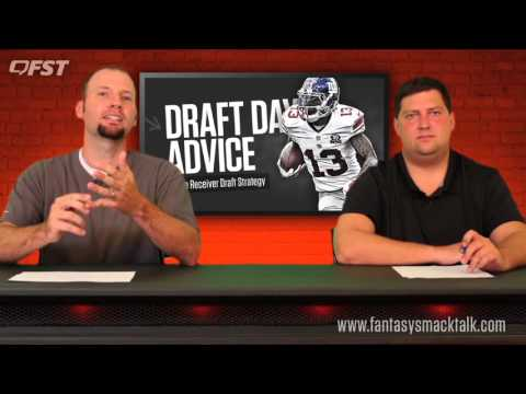 2017 Fantasy Football Wide Receiver Draft Strategy