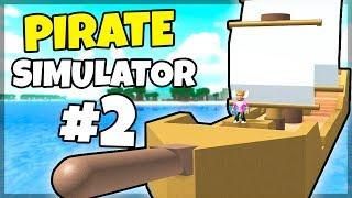 HUGE BOAT! -Danish Roblox: Pirate Simulator #2