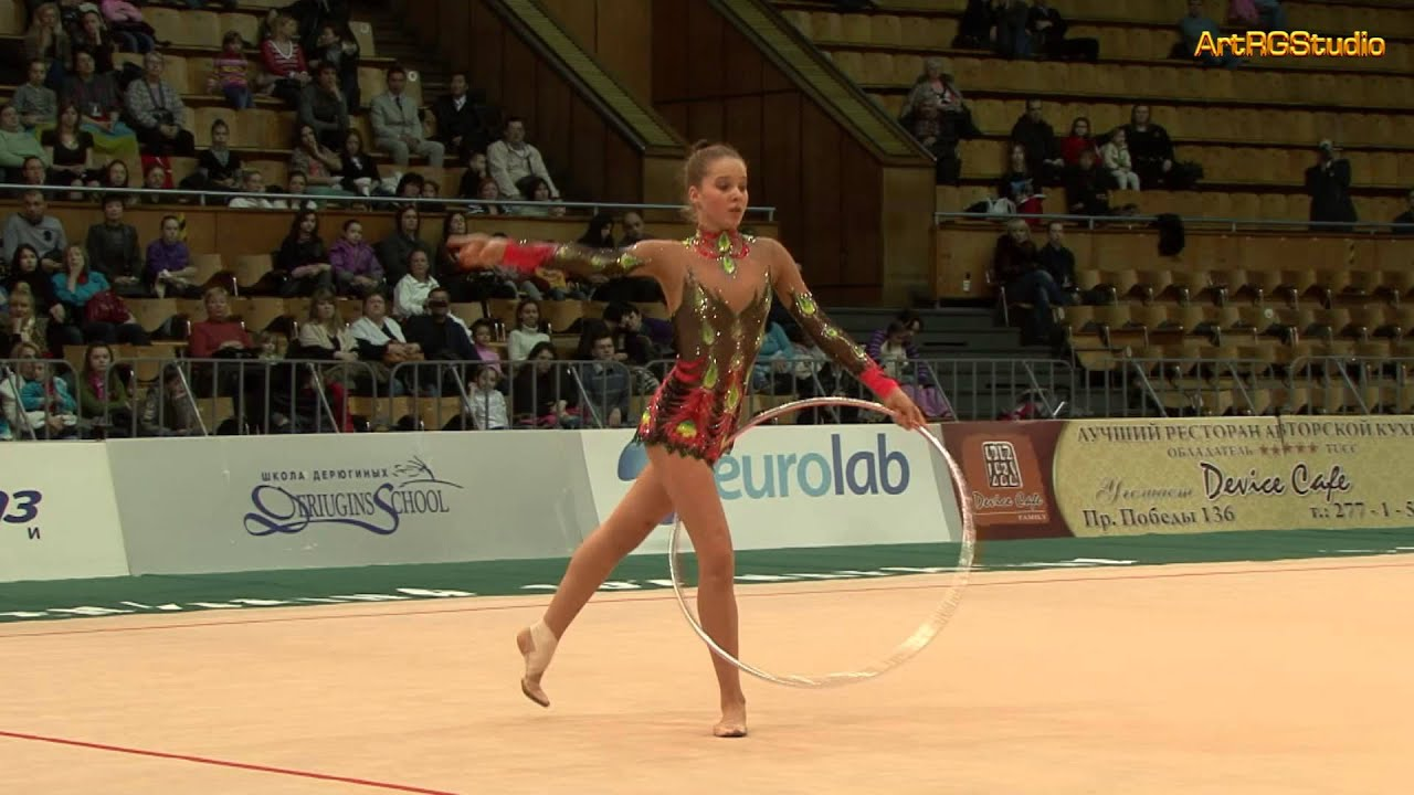 SEMENOVA Yuliya (KAZ) Hoop - 2010 World Cup Kiev ...
