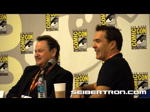 Activision Transformers Fall of Cybertron Panel featuring Video Game Talent at SDCC 2012 7\/8