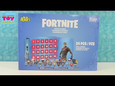 Fortnite Funko Pint Size Heroes Advent Calendar Unboxing Review   PSToyReviews
