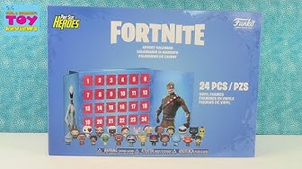 Fortnite Funko Pint Size Heroes Advent Calendar Unboxing Review | PSToyReviews
