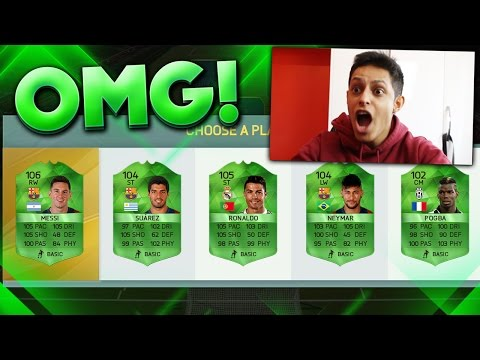 199 RATED FUT DRAFT - 100 RATED CARDS IN FUT DRAFT - FIFA 16