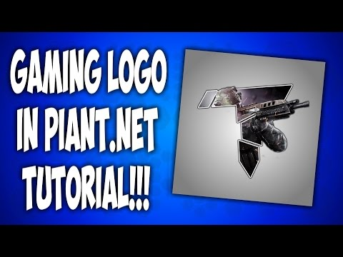 Make a YouTube Gaming/Clan logo in Paint.Net ***EASY***