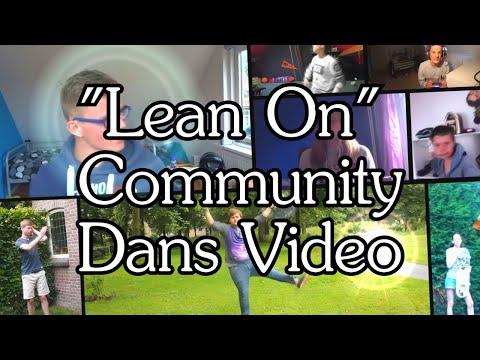 """Lean On"" Major Lazer YOUTUBE Community DANS VIDEO!"