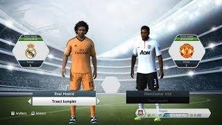"""Zagrajmy w FIFA 14 - Hogaty vs Zirael # """"Liga Mistrzów"""" Grupa B - Real Madryt vs Manchester United"""