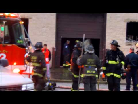 Chicago Fire Department: Working Fire On Scene