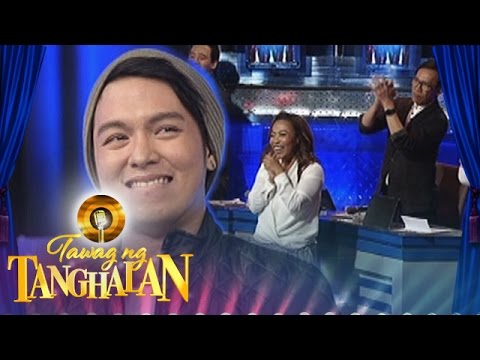 Tawag ng Tanghalan: Sam receives a standing ovation