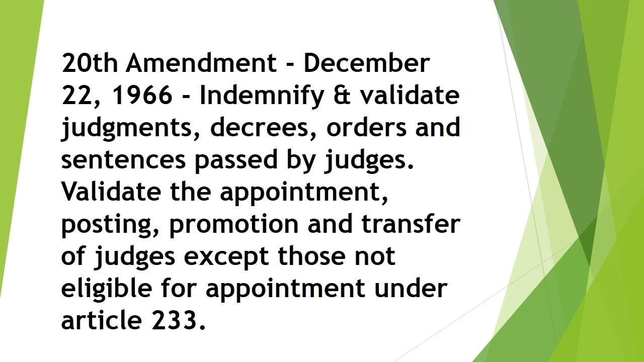 important amendments to know