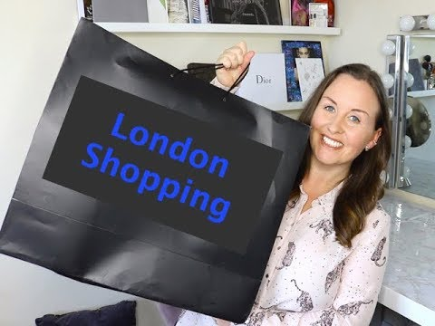 London Shopping And New Bags