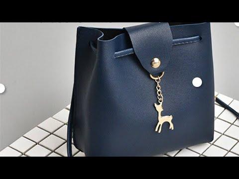 กระเป๋าแฟชั่น กระเป๋าสะพายข้าง กระเป๋าหนัง สำหรับผู้หญิง