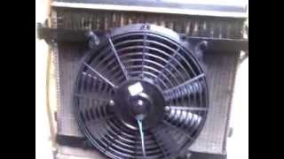 adaptação ventoinha eletrica no chevette