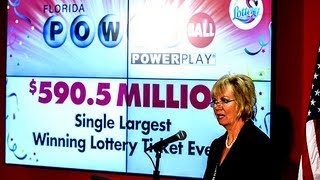 Pensioner in biggest ever US lottery win