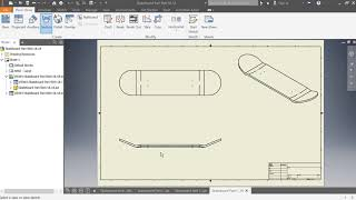 Intro to creating a drawing file in autodesk inventor