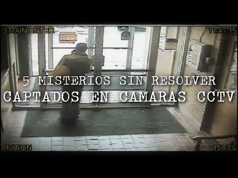 5 Misterios Sin Resolver Captados en Cámaras CCTV