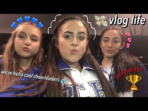 VLOG: a day in the life of a cheerleader LMAO