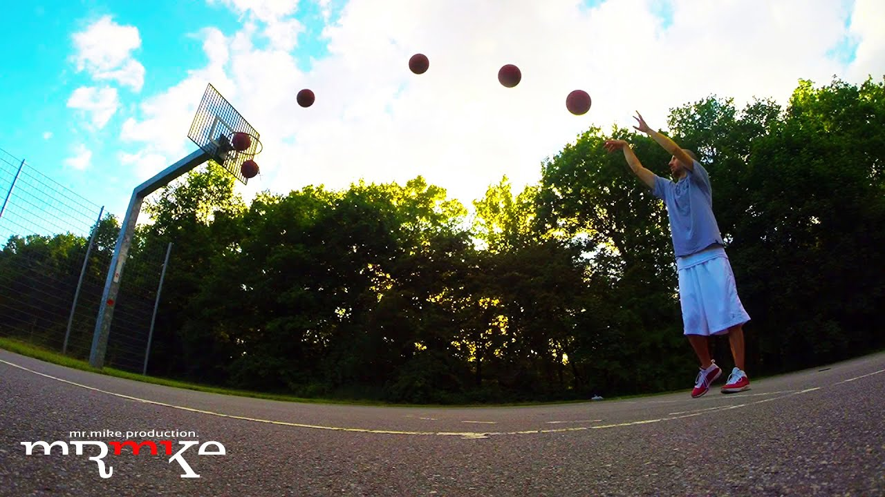 Basketball Wurf