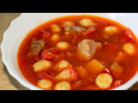 Гуляш из свинины - классический рецепт приготовления с нетрадиционным мясом