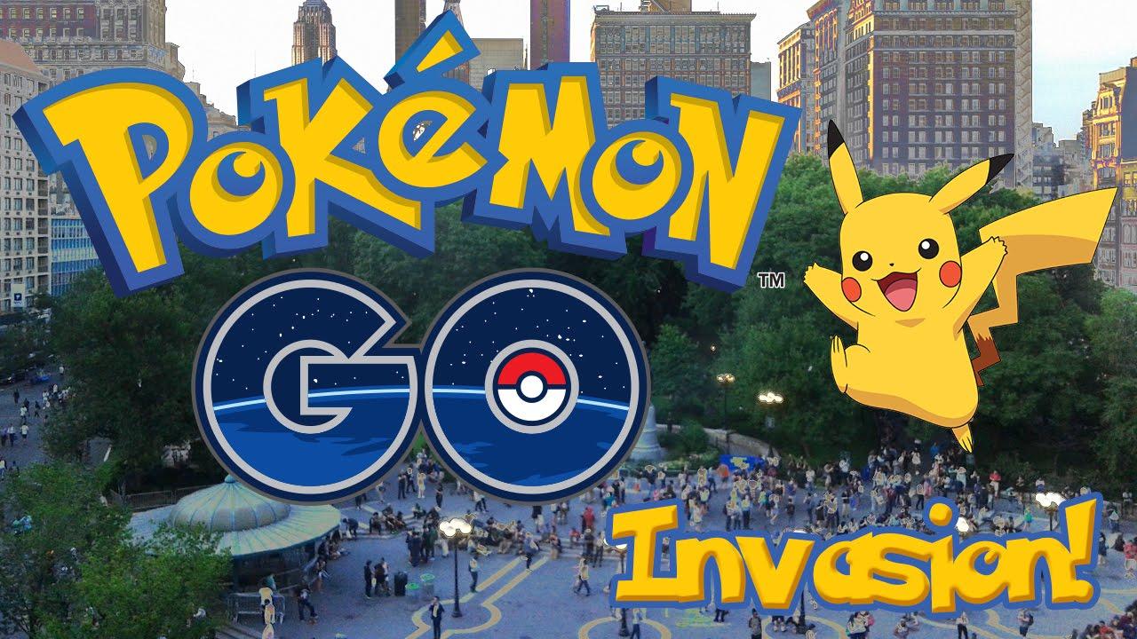 Pokémon Go invades Union Square Park