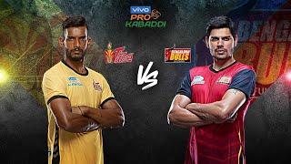 Pro Kabaddi 2019 Highlights   Telugu Titans vs Bengaluru Bulls   Hindi M31
