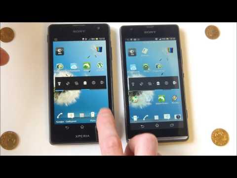 Sony Xperia TX - демонстрация работы