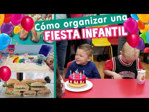 Recetas e ideas para FIESTAS INFANTILES - Día del Niño y Piñatas