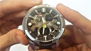 Casio Edifice Watch Era-201d-1avdf Unboxing