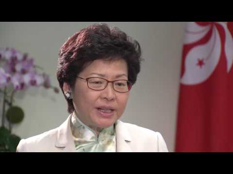 Incoming Hong Kong Chief Executive Carrie Lam on forthcoming policy