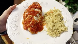 Healthy and Easy alternative to Chicken Parmesan | Crockpot Recipe