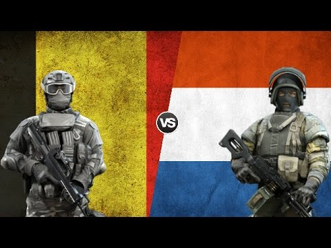 BELGIUM VS NETHERLANDS - Military Power Comparison 2017