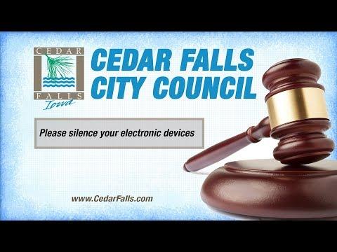Cedar Falls City Council Meeting December 2, 2019