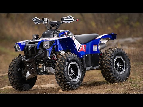 2014 Yamaha Grizzly Customization Project  Part 1