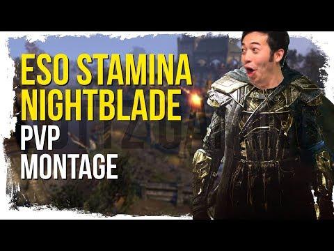 Dottz 2 - Snipe Spammer Exposed?! - ESO Stamina Nightblade PvP Montage