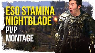 Dottz Snipe Spammer Exposed?! - ESO Stamina Nightblade PvP Montage
