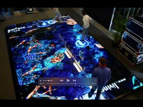 Interactive Virtual Aquarium by Vertigo Systems