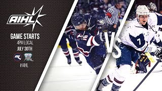 AIHL Live Game 85: Sydney Ice Dogs v Melbourne Ice (30/07/2017)