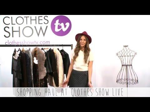 Love Cloth Shopping Haul @ Clothes Show Live 2013