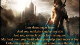 Alanis Morissette - I Remain (Prince of Persia Soundtrack) lyrics