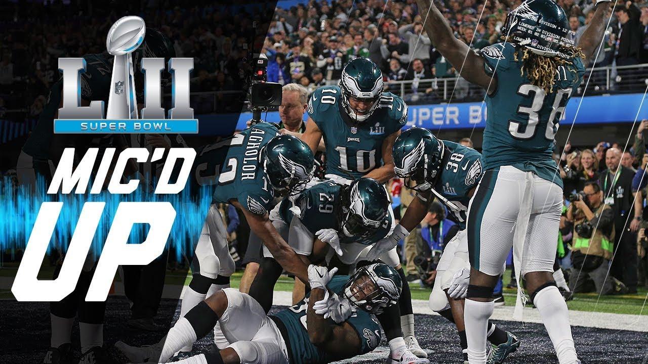Eagles vs. Patriots Mic d Up