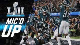 "Eagles vs. Patriots Mic'd Up ""You Want Philly Philly?"" 