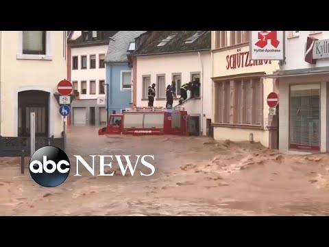At Least 93 Dead, 1,000 Missing After Disaster Flood In Europe L GMA