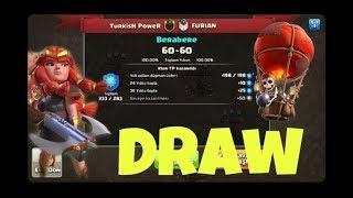 Omg!! 66 Win Streak Lost | Tr Clans Vs Inthedark X47hog Riders + 2 Skeleton, Que