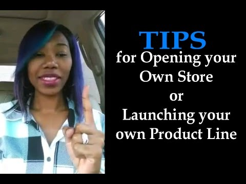 Periscope: Tips for opening your own store or lauching your own product line