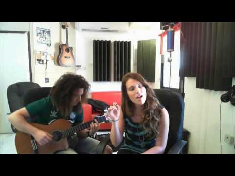 Noy Eisen feat. Yohai Portal - Smashing The Opponent by infected mushroom (acoustic cover)