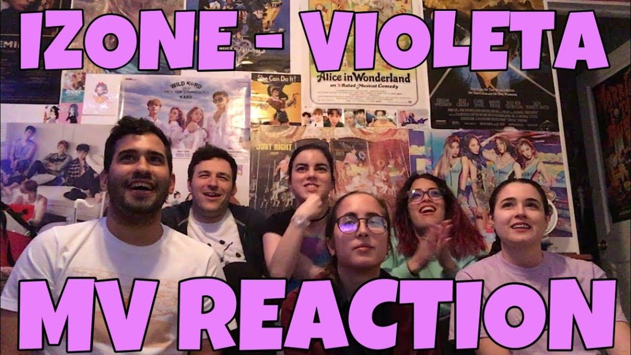 IZ*ONE (아이즈원) - Violeta (비올레타) MV Reaction [HOW CAN THEY BE SO PERFECT?]